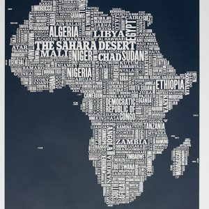 Africa Type Map