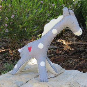 Handmade Felt Giraffe