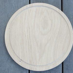 Raw Oak Round Bread:Cheese Board